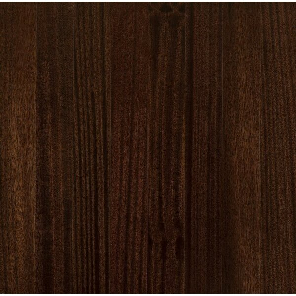 Global Exotics 3-1/2 Engineered Exotic Hardwood Flooring in African Mahogany Exotic Shadow by Armstrong Flooring