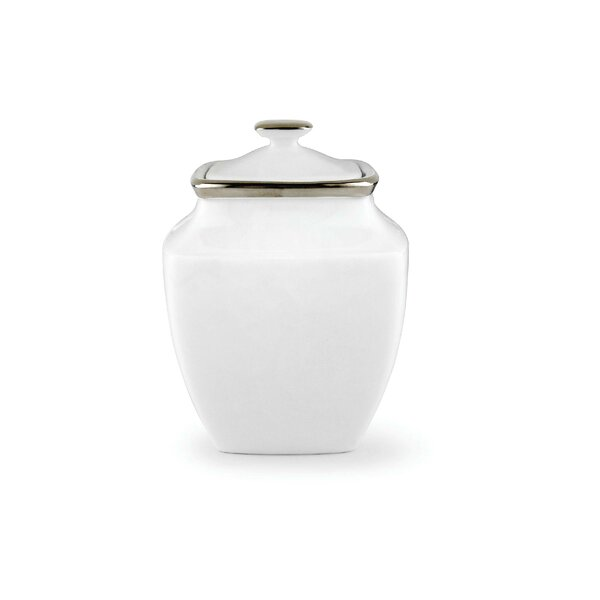 Solitaire Sugar Bowl with Lid by Lenox