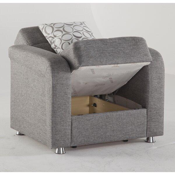 Rafia Palmar Convertible Chair By Brayden Studio