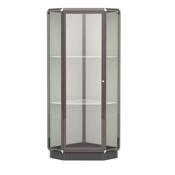 Prominence Series Lighted Corner Display Case by W