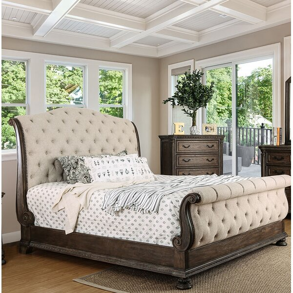 Jaylynn Upholstered Panel Bed by One Allium Way