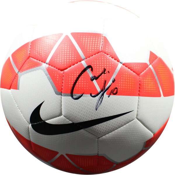Carli Lloyd Signed Nike Soccer Ball by Steiner Sports