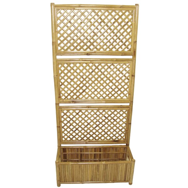 Wood Lattice Panel Trellis by Bamboo54