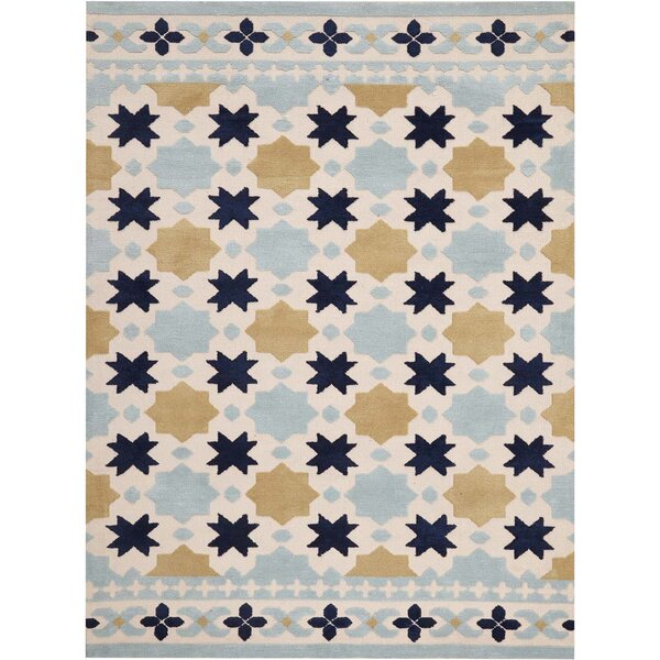 Melrose Hand-Tufted Ivory Area Rug by Harriet Bee