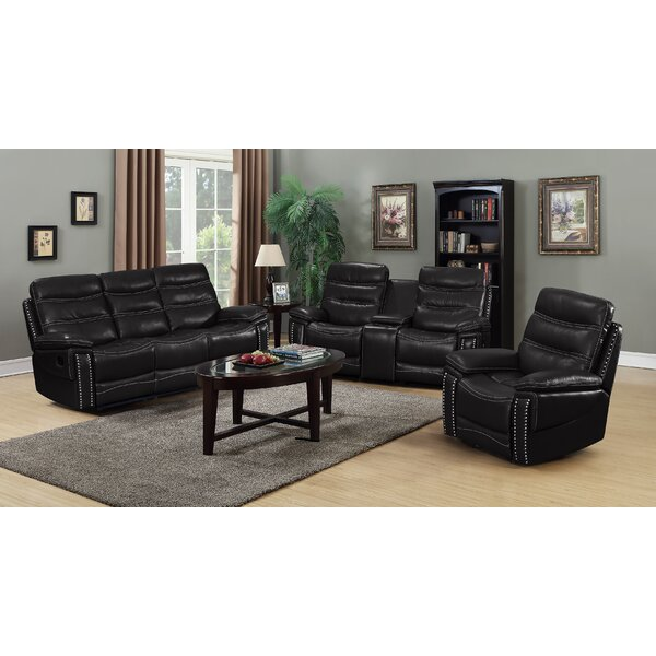 Owings 3 Piece Reclining Living Room Set by Red Barrel Studio