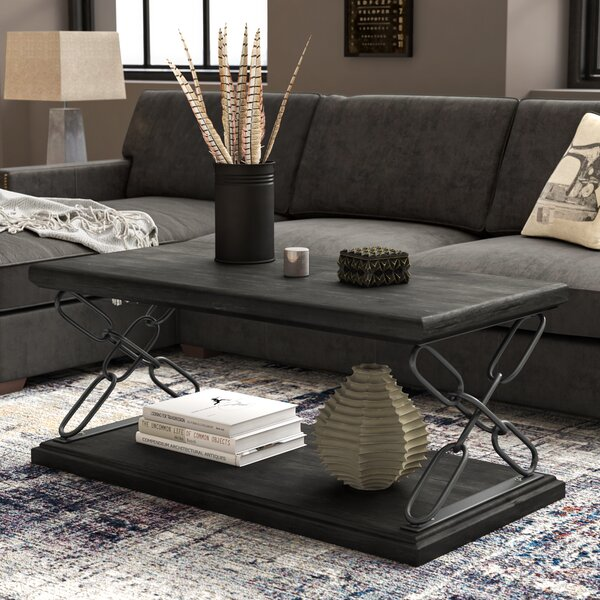 Krieger Coffee Table By Williston Forge
