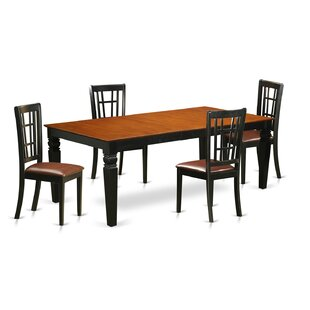 Beesley 5 Piece HardWood Dining Set By Darby Home Co