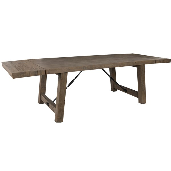 Kellerman Reclaimed Extendable Solid Wood Dining Table By Gracie Oaks