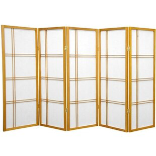 Marla 5 Panel Room Divider by World Menagerie