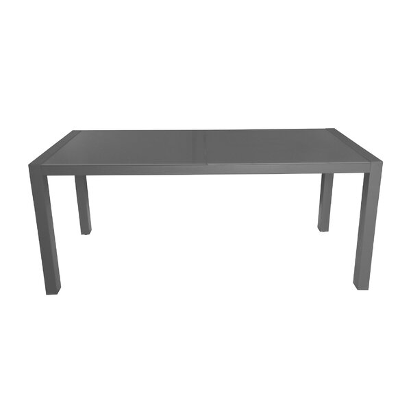 Phyllida Aluminum Dining Table by Ivy Bronx