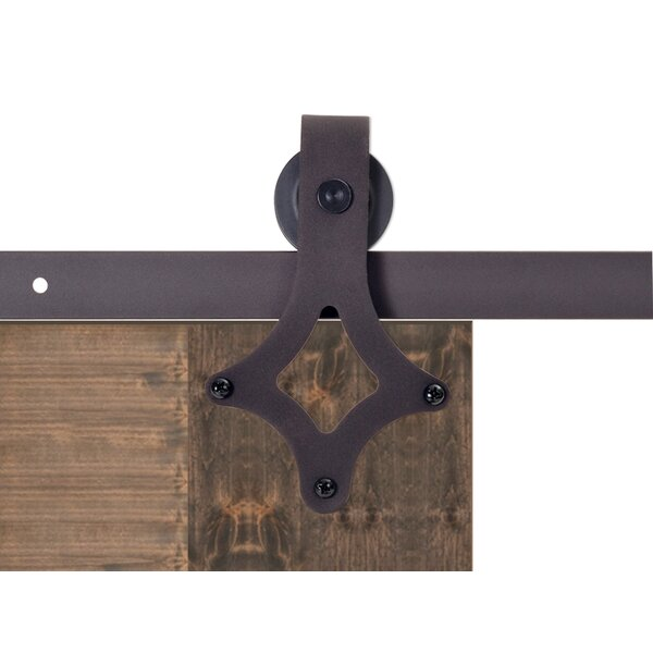 Vintage Style Sliding Door Track Barn Door Hardware by Calhome