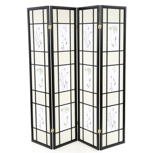 Pateros 4 Panel Room Divider by Wildon Home ®