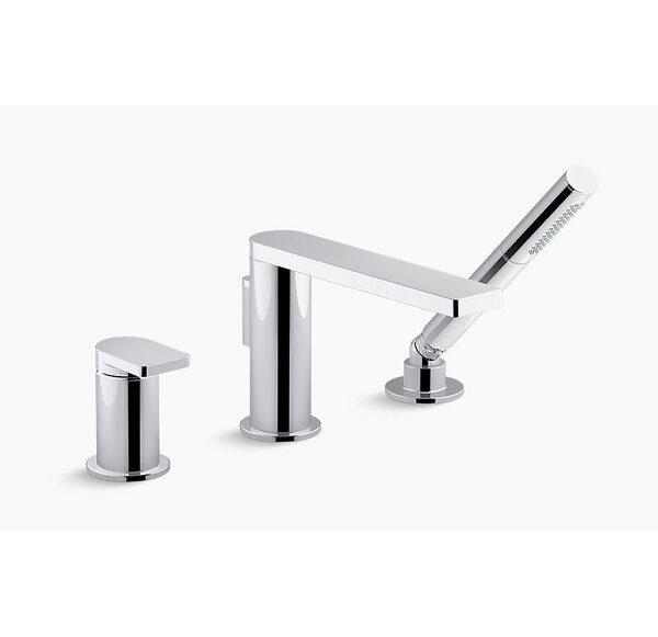 Composed Single Handle 3 Hole Bath Filler by Kohler