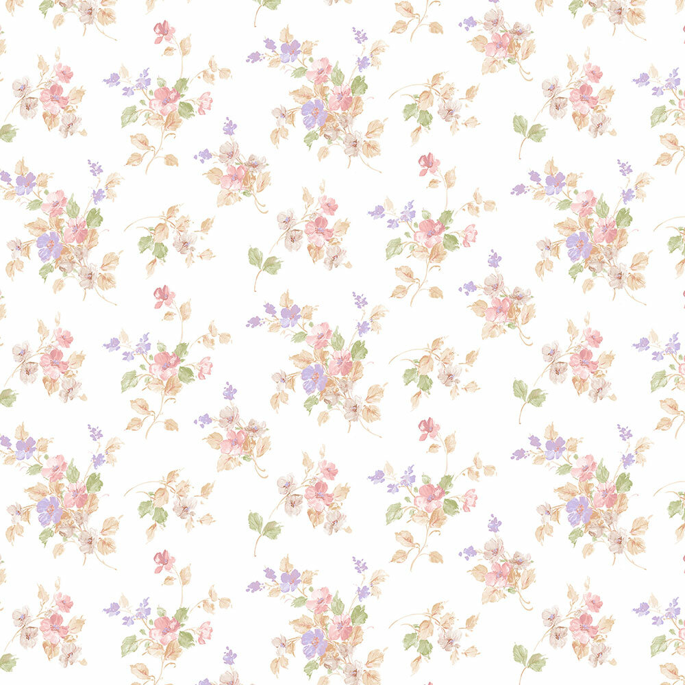 August Grove Drinnon 32 7 L X 20 5 W Classic Floral Wallpaper