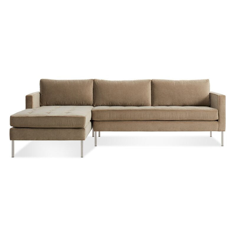 Blu Dot Paramount Sofa With Chaise