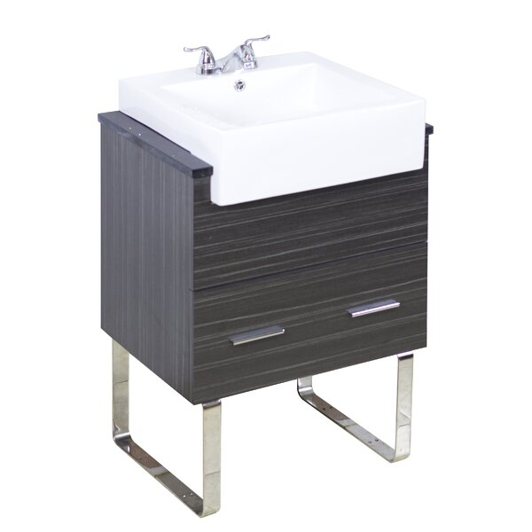 24 Single Modern Bathroom Vanity Set by American Imaginations