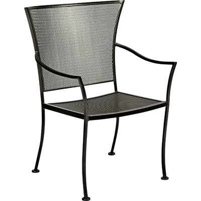 Amelie Stacking Patio Dining Chair by Woodard