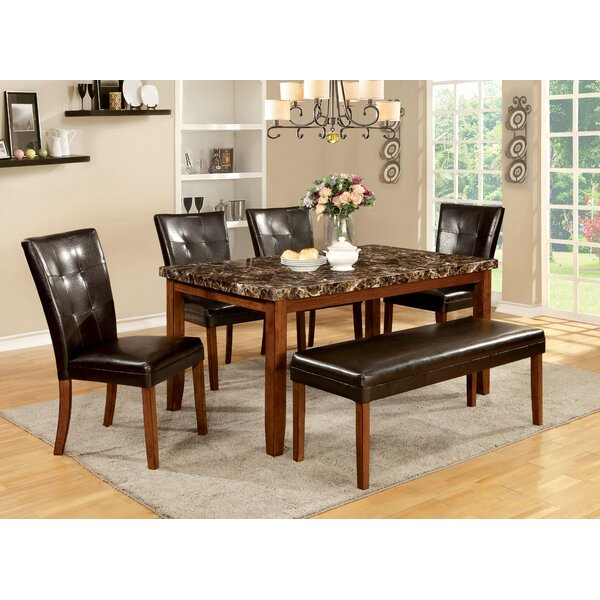 Madrid 6 Piece Dining Set by Hokku Designs