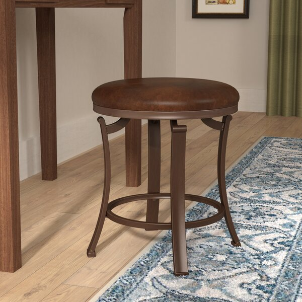 Staten Backless Vanity Stool by Charlton Home