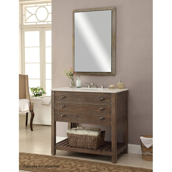Russell 36 Single Sink Vanity Set by Laurel Foundr