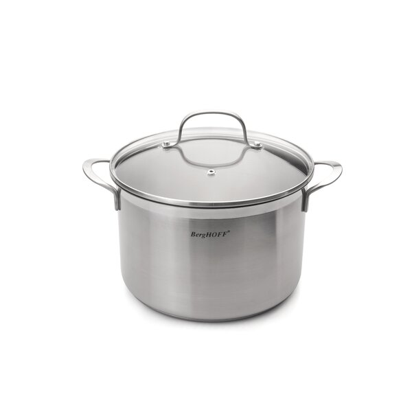 Bistro  6.3-qt Stock Pot with Lid by BergHOFF International