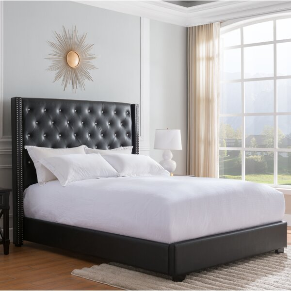 Rivage Upholstered Standard Bed by Rosdorf Park