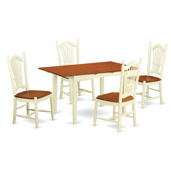 Balfor 5 Piece Dining Set By Andover Mills Purchase