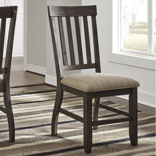 Ravenden Solid Wood Dining Chair (Set of 2) by Loon Peak Loon Peak