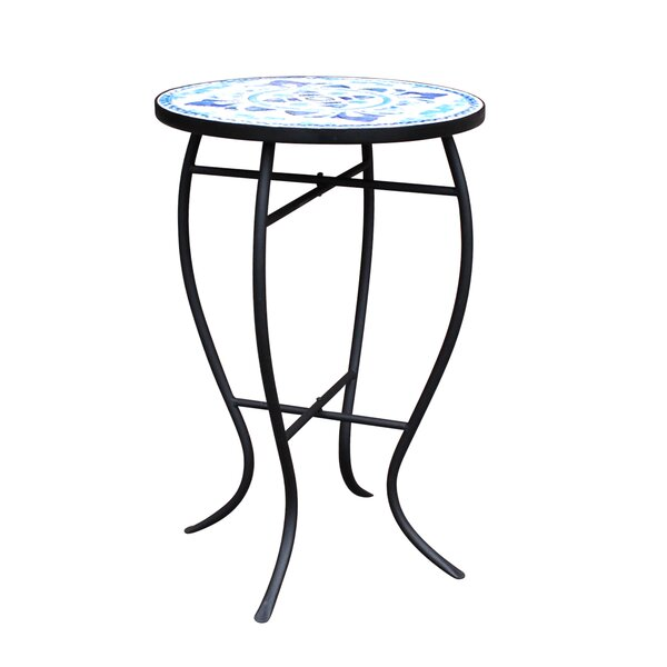 Cocoa Mosaic Bistro Table by Fleur De Lis Living