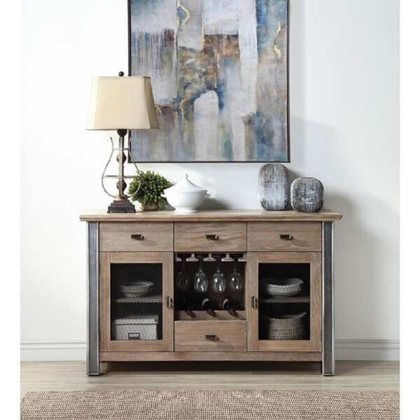 Cramer Office Home Utility Wooden Bar Cabinet By Gracie Oaks