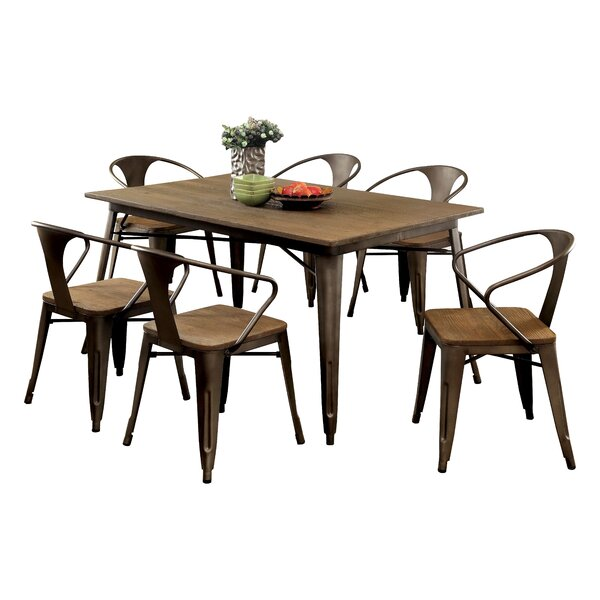Reedley 7 Piece Dining Set by Trent Austin Design