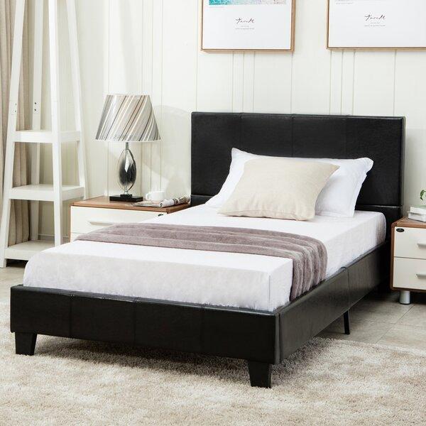 Shigeko Twin Upholstered Platform Bed by Ebern Designs