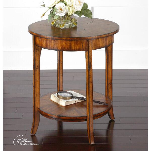 Bradford End Table by Alcott Hill