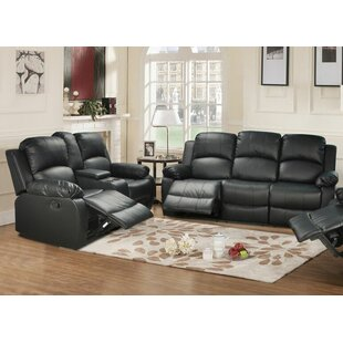 Farah Faux Leather Reclining Living Room Set by Beverly Fine Furniture