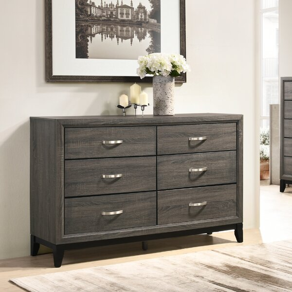 Macy 6 Drawer Dresser by Wrought Studio