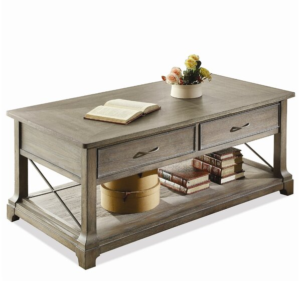 Busti Coffee Table With Storage By Three Posts
