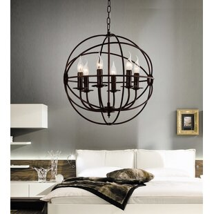 Read Reviews Margo 6-Light Candle-Style Chandelier By Gracie Oaks