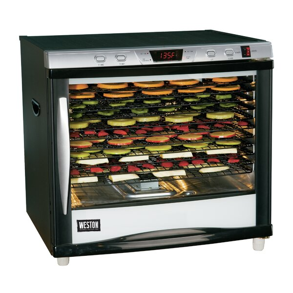 12 Tray Pro 1200-Digital Dehydrator by Weston