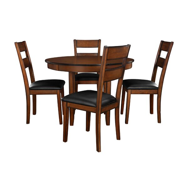 Juno 5-Piece Dining Set by Winston Porter