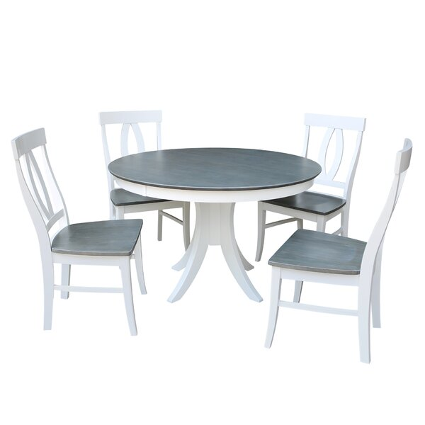 5 Piece Solid Wood Dining Set by Sedgewick Industries