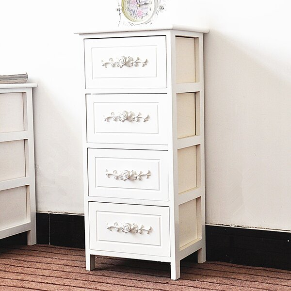 Voight 4 Drawer Nightstand by House of Hampton