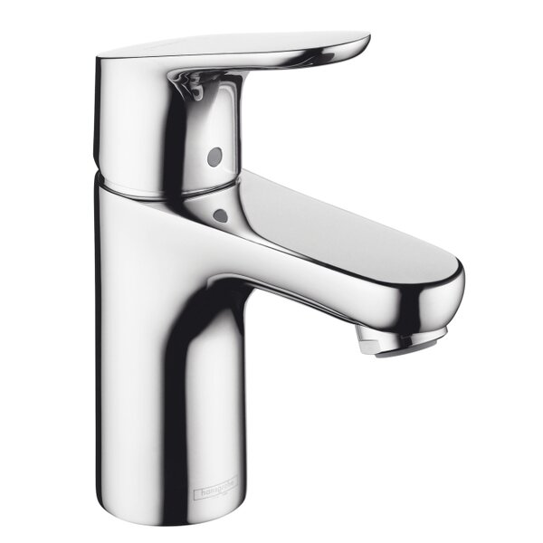 Focus E Single Hole Bathroom Faucet with Drain Assembly by Hansgrohe