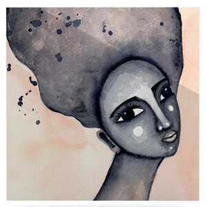 'Yearning African American Art' Print on Metal by East Urban Home