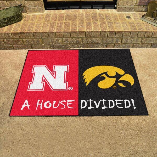 House Divided - Nebraska / Iowa Doormat by FANMATS