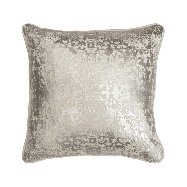 Craigsville Metallic Throw Pillow by Greyleigh