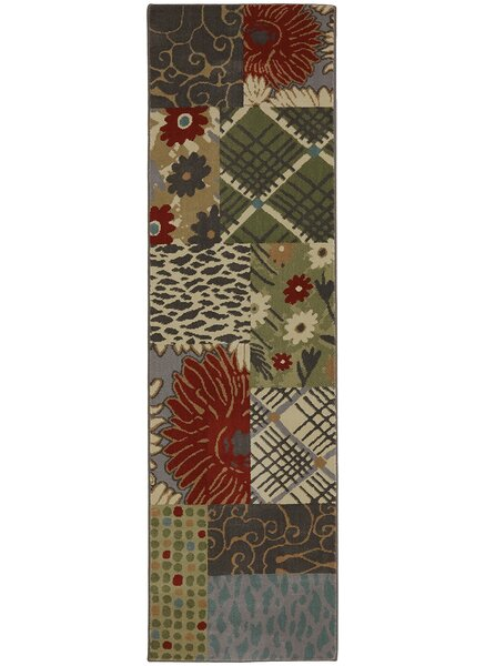 Symphony Emporia Patchwork Saddle Area Rug by Mohawk Home