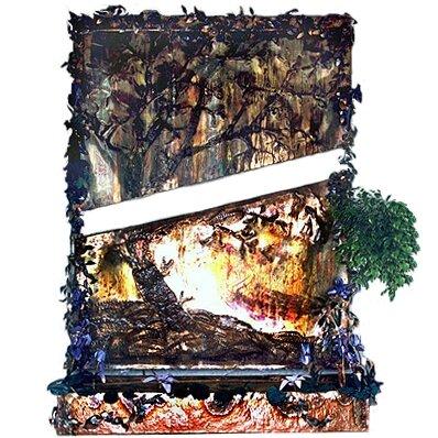 Slab Copper/Fiberglass Tree Fountain by Harvey Gallery
