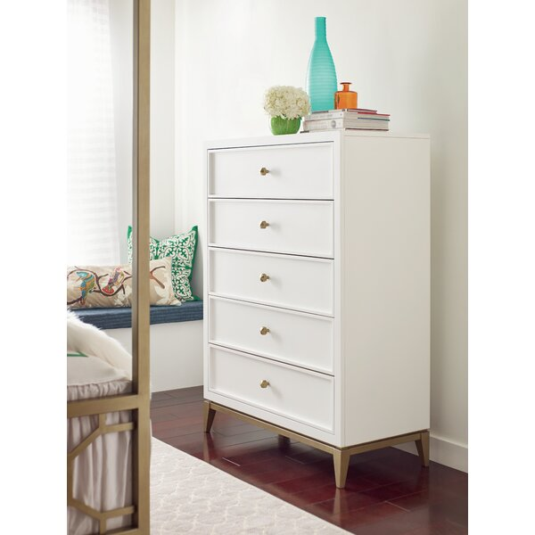 Chelsea 5 Drawer Chest by Rachael Ray Home