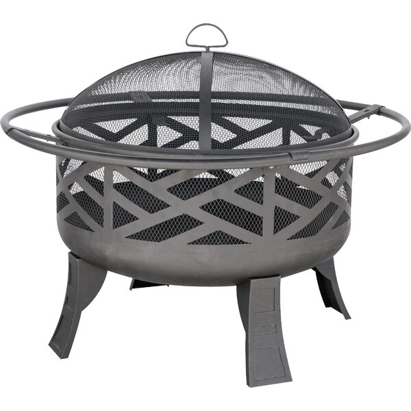 Cast Iron Wood Burning Fire Pit by Uniflame Corporation