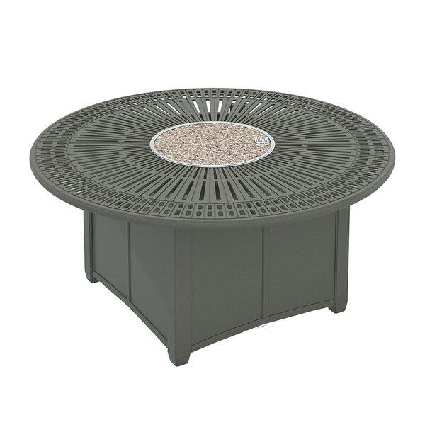 Spectrum Aluminum Fire Pit Table by Tropitone
